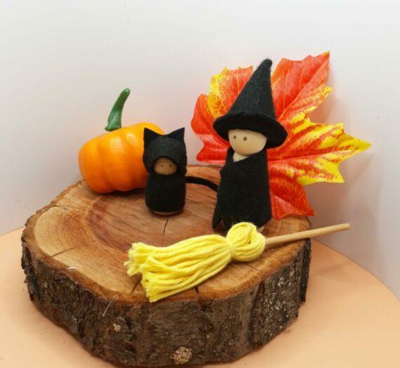 Borzongás  waldorf módra – halloween